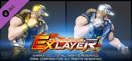 FIGHTING EX LAYER - Color Gold/Silver: Terry