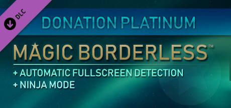 Magic Borderless - Donation Platinum