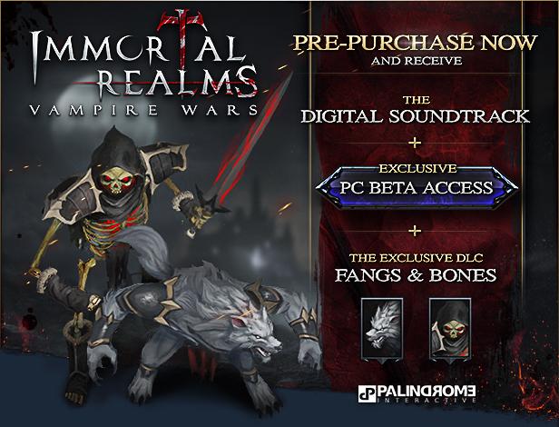 Immortal Realms: Vampire Wars, Kalypso Media, Palindrome Interactive