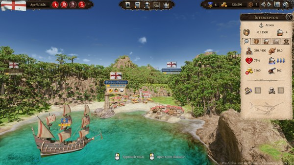 Port Royale 4 concreta fecha de lanzamiento y una fase beta 2