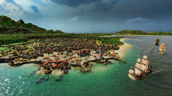 Capture d'écran n°1 du Jeu Port Royale 4