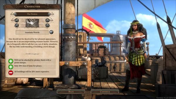Capture d'écran n°2 du Jeu Port Royale 4