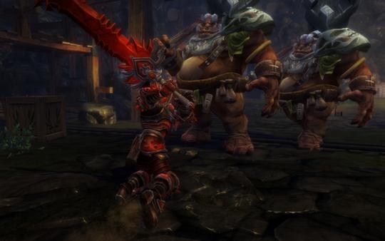 скриншот Kingdoms of Amalur: Reckoning 7