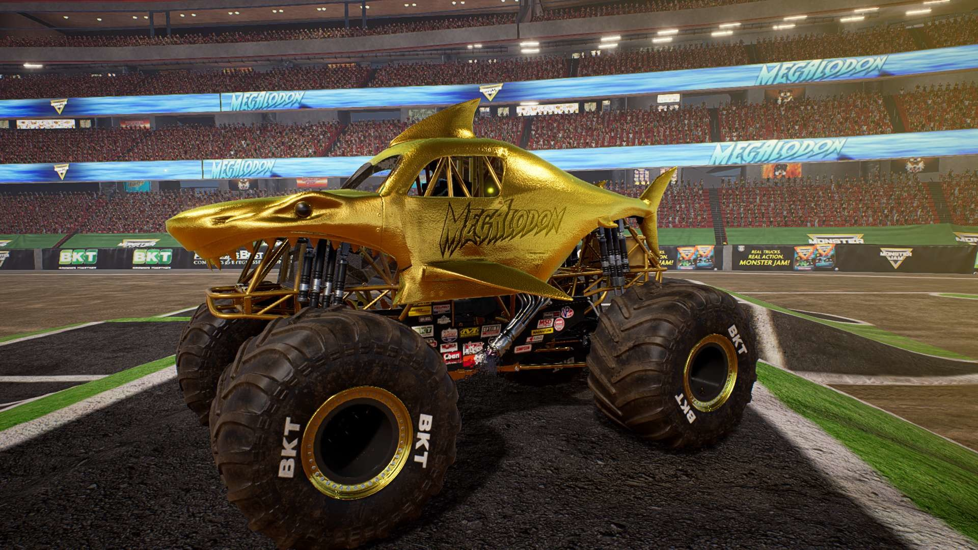 Monster Jam Steel Titans Gold Truck Bundle On Steam