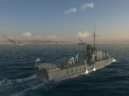 Скриншот из PT Boats: South Gambit