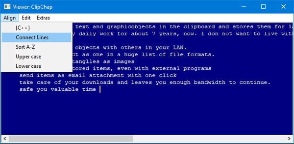 Скриншот из ClipChap