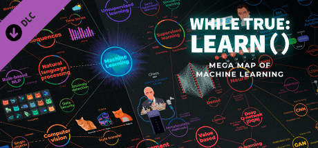 While True Learn Mega Map Of Machine Learning On Steam