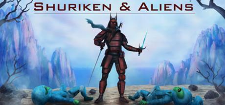 Shuriken and Aliens Capa