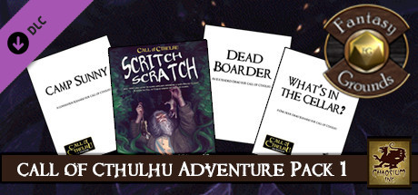 Fantasy Grounds - Call of Cthulhu Adventure Pack 1 (Call of Cthulhu 7E)