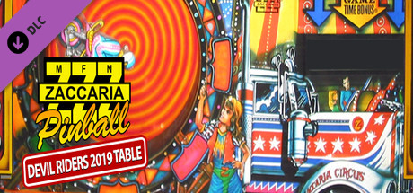 Zaccaria Pinball - Devil Riders 2019 Table
