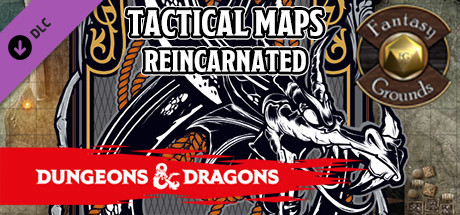 Fantasy Grounds - Dungeons & Dragons Tactical Maps Reincarnated