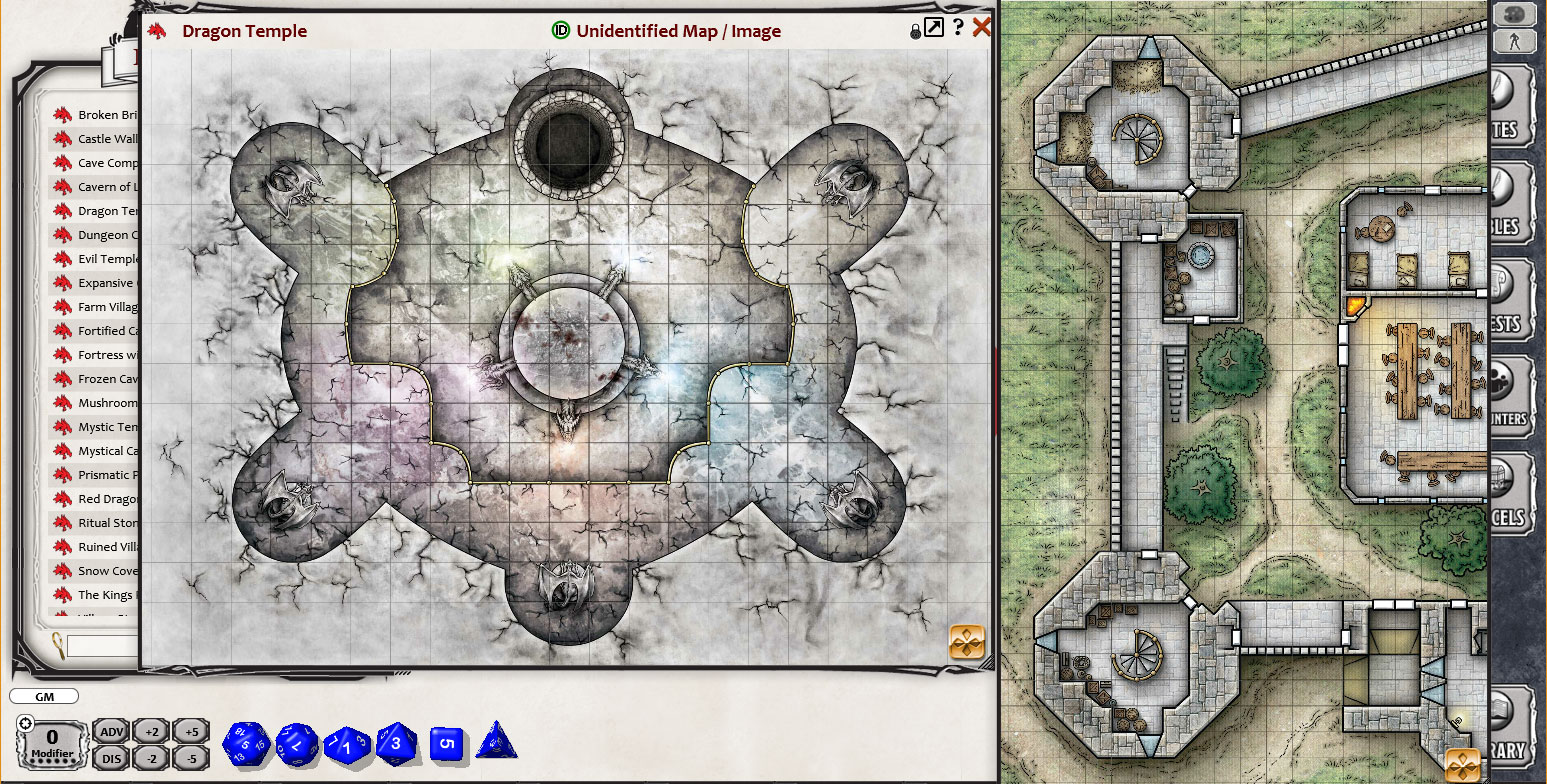 Dungeons And Dragons Maps Fantasy Grounds   Dungeons & Dragons Tactical Maps Reincarnated on