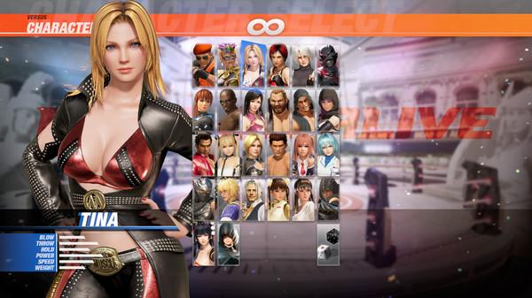 DOA6 Character: Tina (DLC)