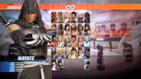 DOA6 Character: Hayate (DLC)