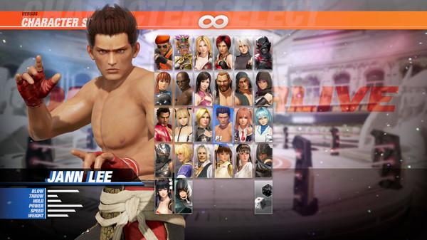 DOA6 Character: Jann Lee (DLC)