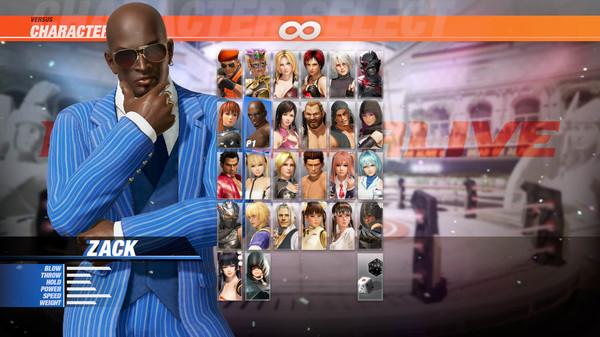 DOA6 Character: Zack (DLC)