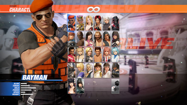 DOA6 Character: Bayman (DLC)