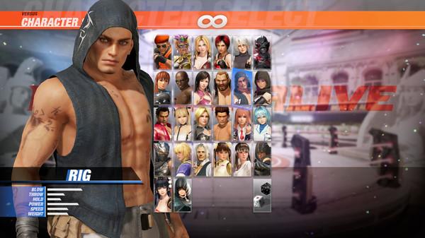 DOA6 Character: Rig (DLC)