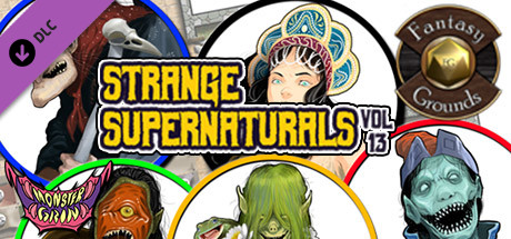Fantasy Grounds - Strange Supernaturals, Volume 13 (Token Pack)