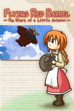 Flying Red Barrel - The Diary of a Little Aviator poster image on Steam Backlog