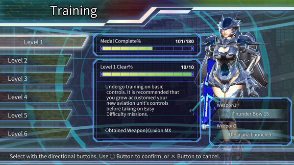 EARTH DEFENSE FORCE 4.1 WINGDIVER THE SHOOTER - TRAINING MODE (DLC)