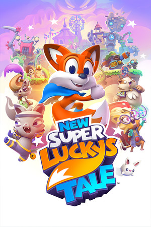 New Super Lucky's Tale poster image on Steam Backlog