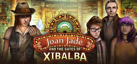 Joan Jade and the Gates of Xibalba cover art