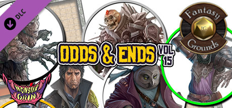 Fantasy Grounds - Odds & Ends, Volume 15 (Token Pack)