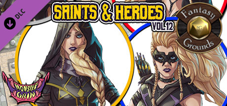 Fantasy Grounds - Saints & Heroes, Volume 12 (Token Pack)