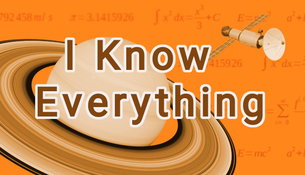 I Know Everything on Steam