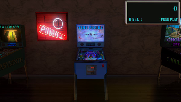 Malzbie's Pinball Collection - Time Flight (DLC)
