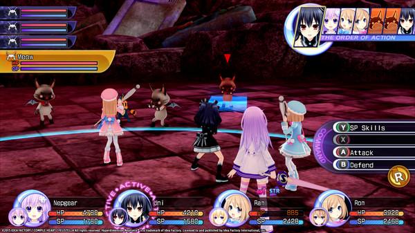 Hyperdimension Neptunia Re;Birth2 Survival Mode (DLC)