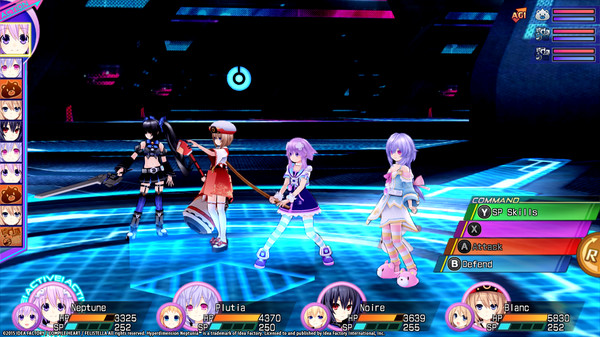 Hyperdimension Neptunia Re;Birth3 Survival Mode (DLC)