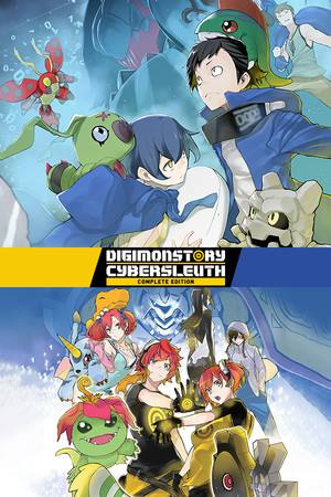 Digimon Story Cyber Sleuth: Complete Edition poster image on Steam Backlog