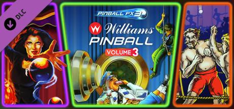 Pinball FX3 – Williams Pinball Volume 3 Capa