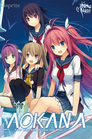 Aokana - Four Rhythms Across the Blue poster image on Steam Backlog
