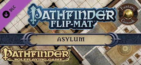 Fantasy Grounds - Pathfinder Flip-Mat: Asylum (Map Pack)