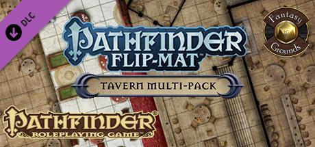 Fantasy Grounds - Pathfinder Flip-Mat: Tavern Multi-Pack (Map Pack)