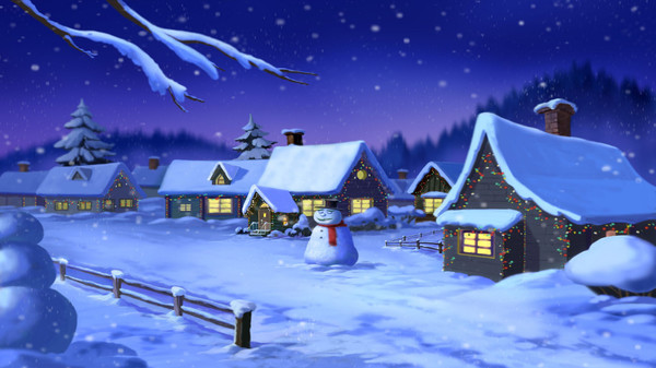 скриншот Quixzel Rush: Christmas Helper Wall Paper Set 0