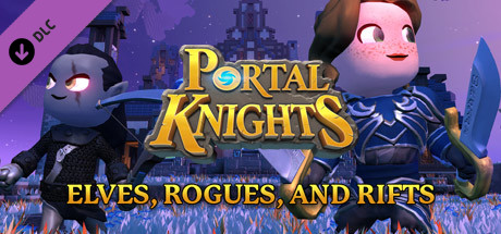 Купить Portal Knights - Elves, Rogues, and Rifts (DLC)