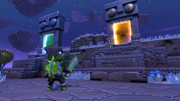 Portal Knights Elves Rogues and Rifts ScreenShot 1