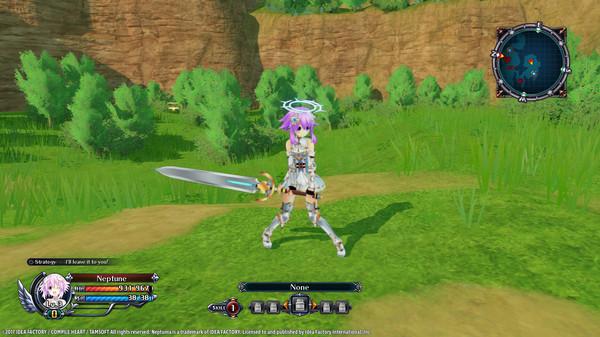 Cyberdimension Neptunia: 4 Goddesses Online - Purple Heart Angel Ring (DLC)