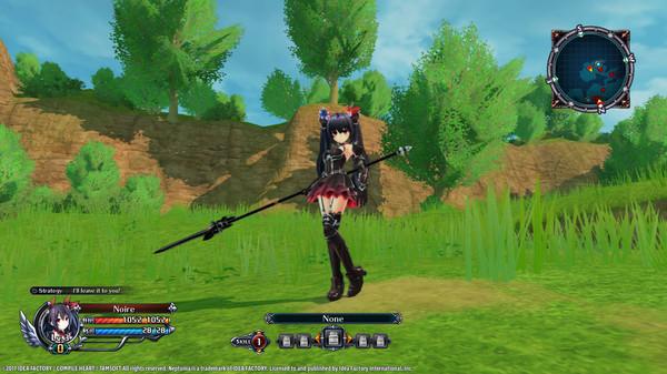 Cyberdimension Neptunia: 4 Goddesses Online - Black Heart Hair Tie (DLC)