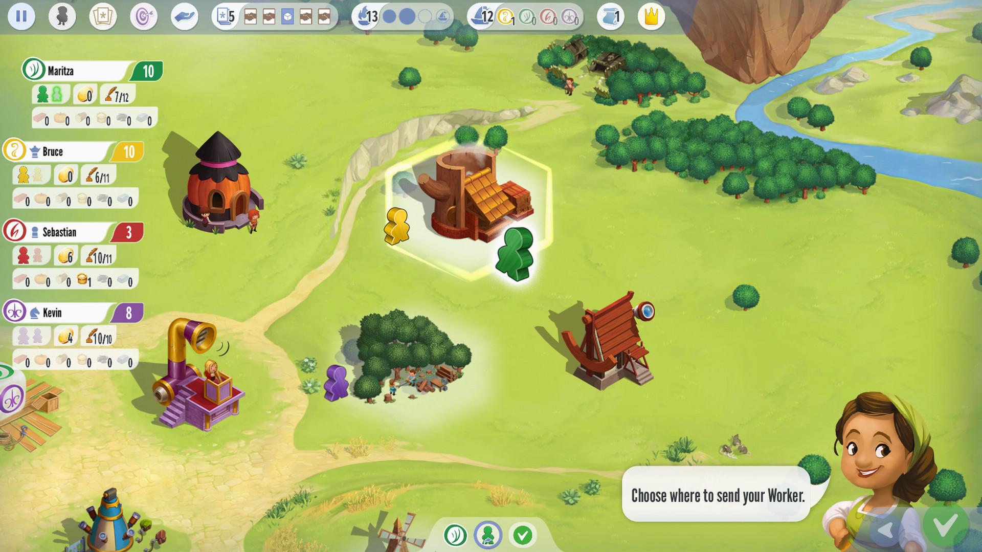 Charterstone: Digital Edition on Steam