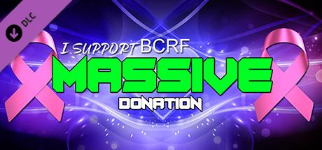 I Support BCRF - Massive donation