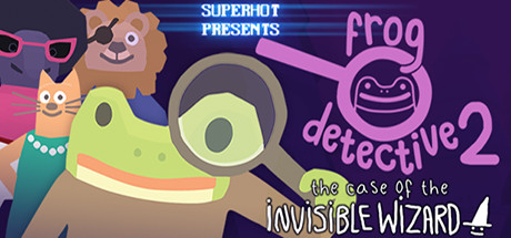Frog Detective 2: The Case of the Invisible Wizard cover art