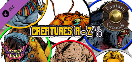 Fantasy Grounds - Creatures A-Z, Volume 8 (Token Pack)