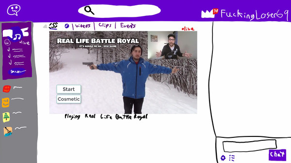 Real Life Battle Royal: It's gonna be an... EPIC game