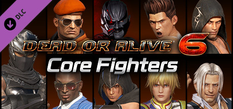 DEAD OR ALIVE 6: Core Fighters - Male Fighters Set