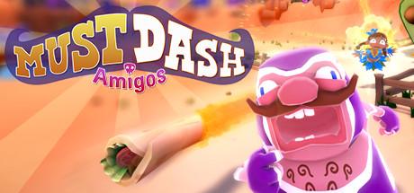 Game Banner Must Dash Amigos